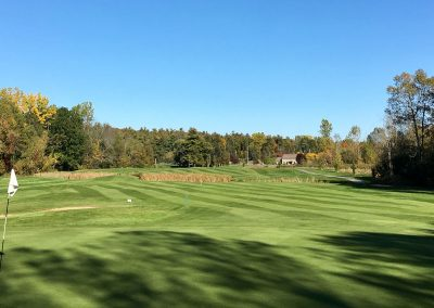 The 11th Green in the Fall