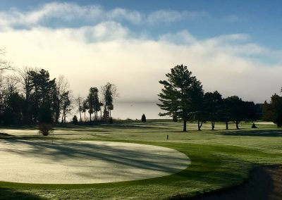 Early Morning on the 3rd Green